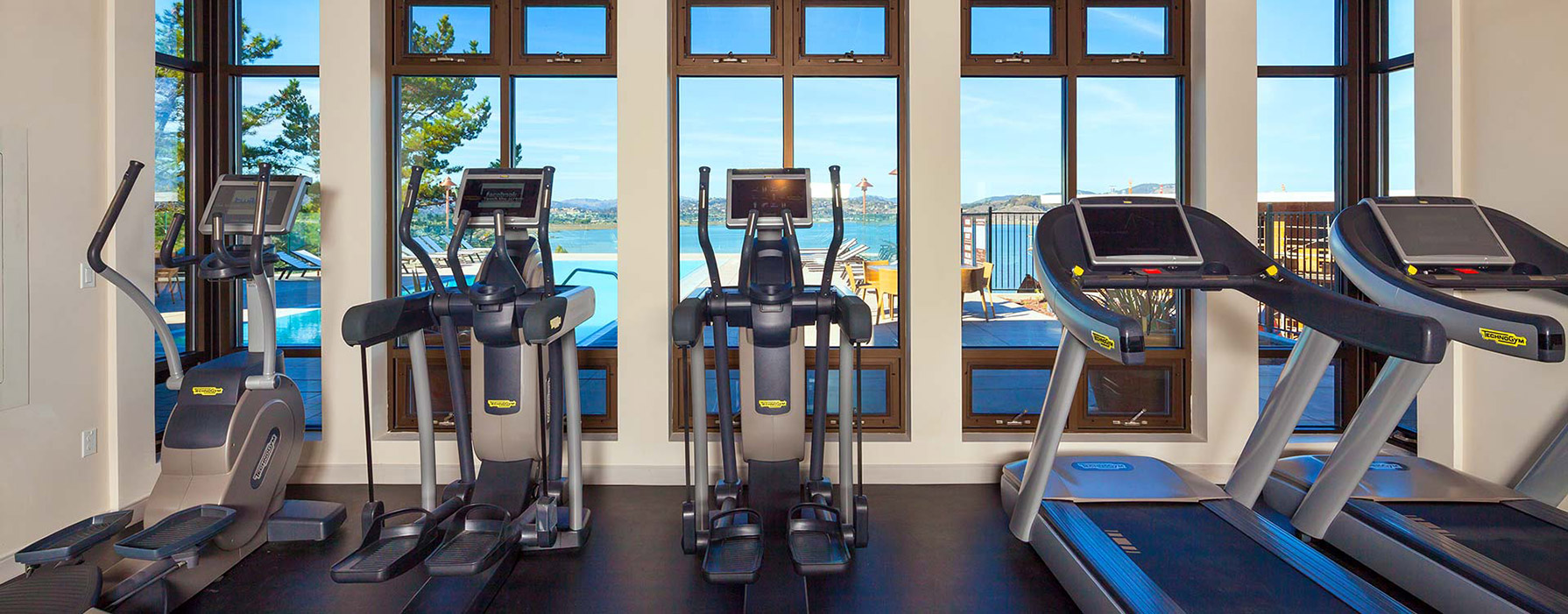 Preserve at Marin Apartment Homes - Corte Madera, CA - Workout Room