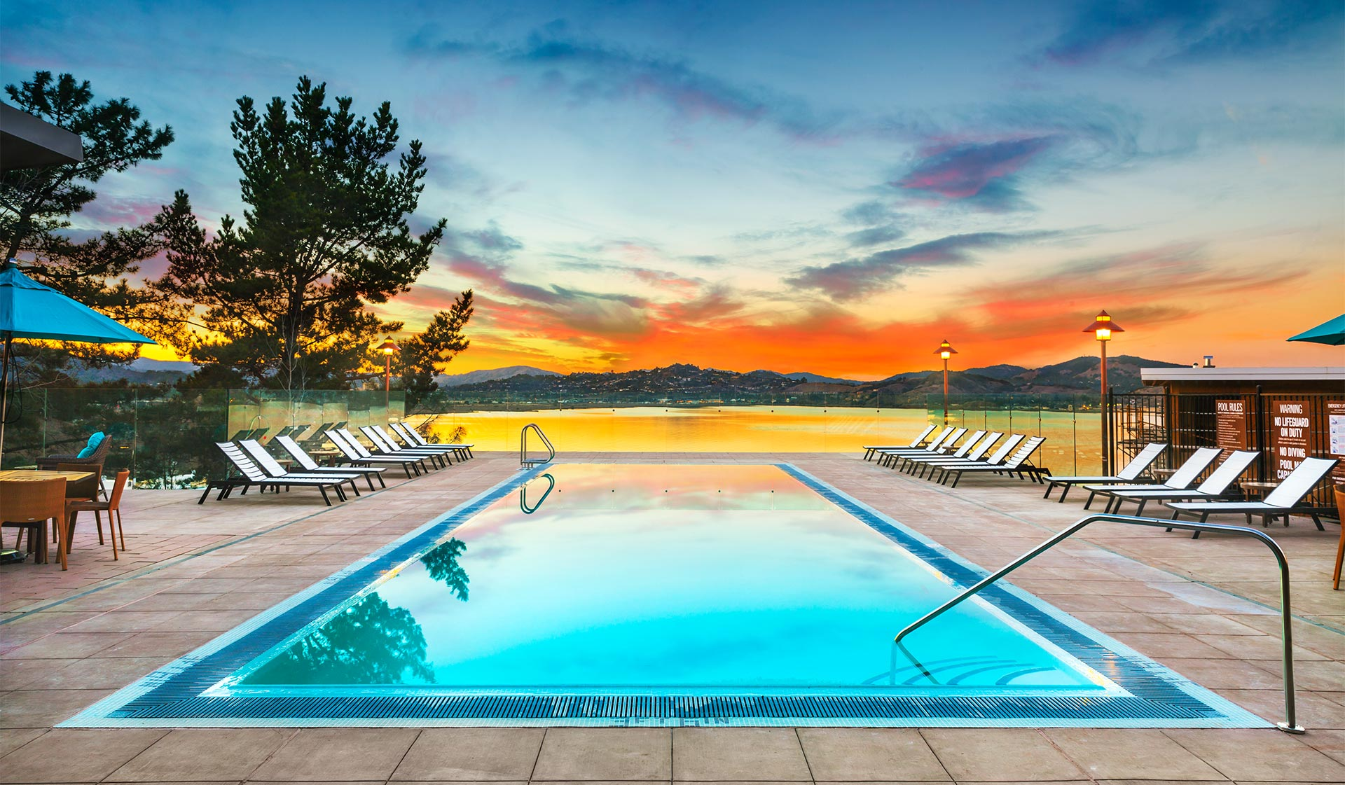 Preserve at Marin Apartment Homes - Corte Madera, CA - Pool