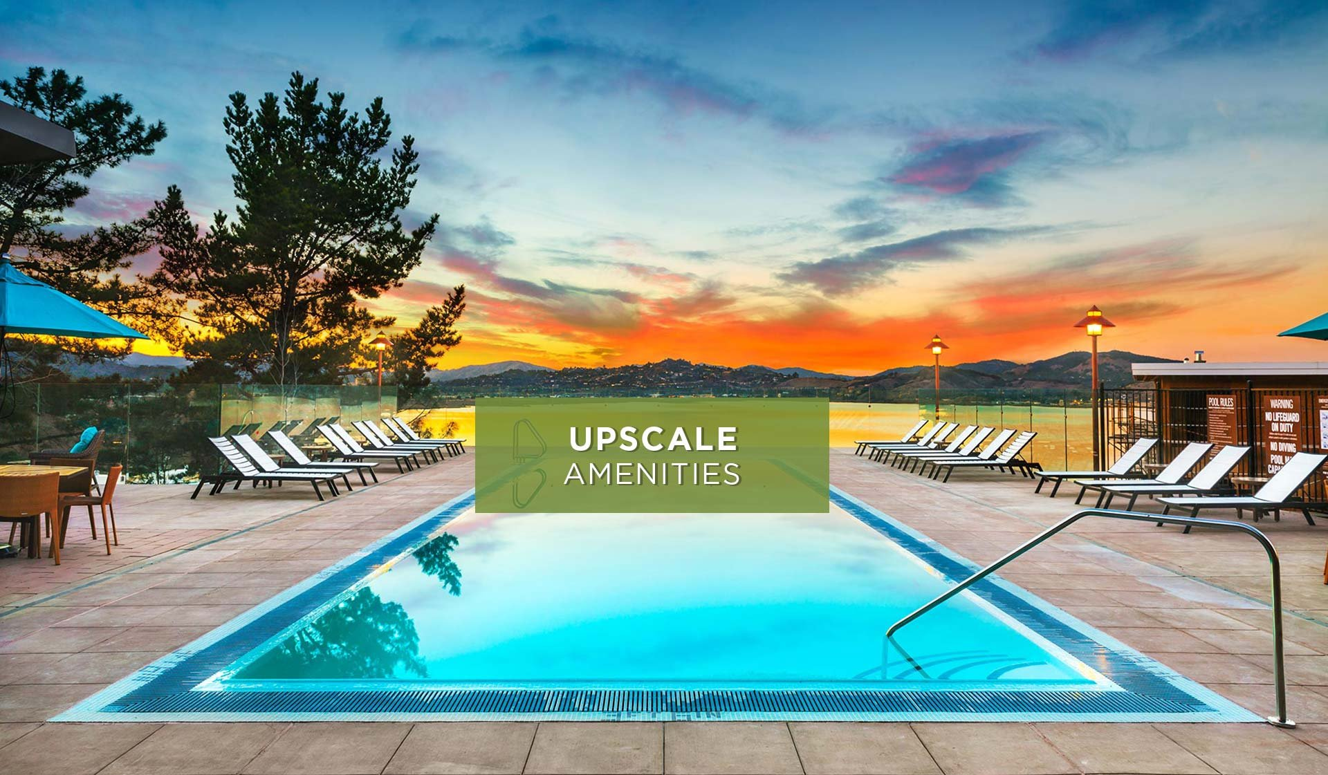Preserve at Marin Apartment Homes - Pool - Corte Madera, CA